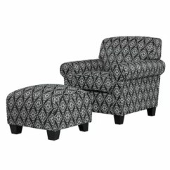 Black Chair And Ottoman Replacement Cushions For Wicker Chairs Arm Included Accent You Ll Love Wayfair Quickview