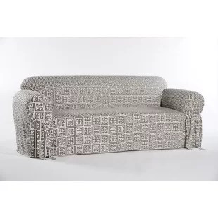 sure fit logan sofa slipcover how to make loose pillow back slipcovers wayfair quickview