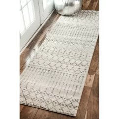 Kitchen Runner Rugs Sink Hose Hallway Runners You Ll Love Wayfair Ca Clair Grey Ivory Area Rug