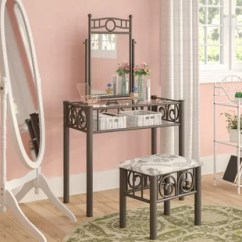 Places To Borrow Tables And Chairs Wheel Chair On Rent In Dubai For Makeup Table Wayfair Kennerdell Metal Vanity Set