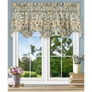 curtains for the kitchen las vegas hotels with floral valances you ll love wayfair quickview