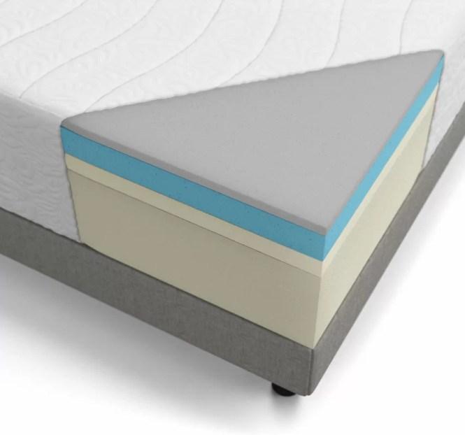 16 Plush Gel Memory Foam Mattress