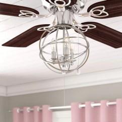 Ceiling Fan Light Kits Golf Cart Electrical System Diagram Gracie Oaks 3 Led Globe Kit Reviews Wayfair