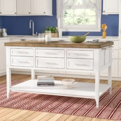 Kitchen Island Large Rustic 60 Islands Carts You Ll Love Wayfair Kira