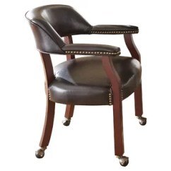 Leather Kitchen Chairs Lazy Boy Nz Casters Dining You Ll Love Wayfair Quickview