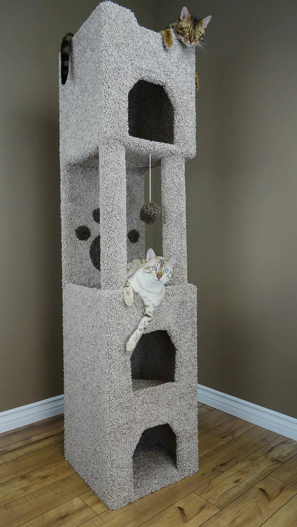 "New Cat Condos 71"" Premier Cat Tree & Reviews"
