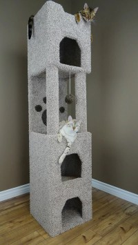 "New Cat Condos 71"" Premier Cat Tree & Reviews | Wayfair"