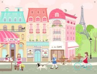 Oopsy Daisy Parisian Afternoon by Pim Pimlada Canvas Wall ...