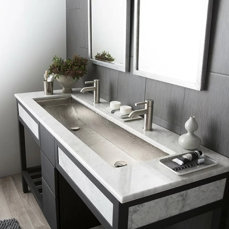 Trough Sinks For Bathroom