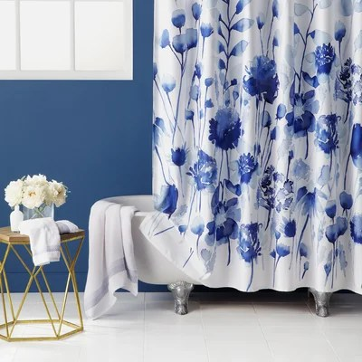 Nature Amp Floral Shower Curtains Youll Love Wayfair
