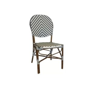 french cafe chairs how to refinish wood chair wayfair lyke stacking patio dining