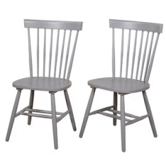 Grey Kitchen Chairs Chair Cover Rentals Fredericton Gray Dining You Ll Love Wayfair Quickview