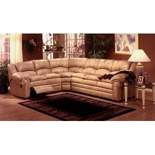 recliner sectional sleeper sofa century furniture small reclining wayfair riviera
