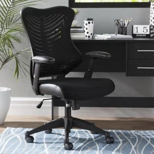 folding desk chair round back dining wayfair quickview