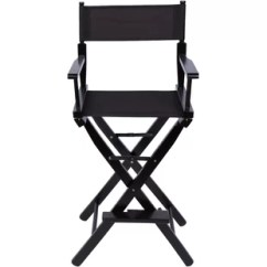 Directors Chair White Large Round Chairs For Living Room Bar Height Wayfair Lagunday 30 Folding Director