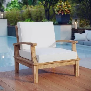 patio chairs for cheap eams lounge chair teak furniture you ll love wayfair quickview