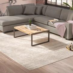 Modern Gray Living Room Outdoor Rooms With Fireplace Greyleigh Bridgeton Distressed Cream Sleek Area Rug Reviews Wayfair