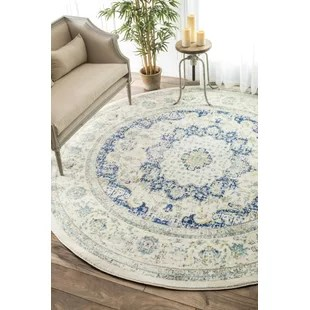 round area rug in living room images of colour schemes 7 8 rugs you ll love wayfair hosking doylestown blue