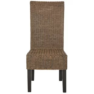 gray rattan dining chairs top high canada wash wayfair quickview