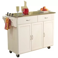 Kitchen Cart On Wheels Shun Knives Islands Carts You Ll Love Wayfair