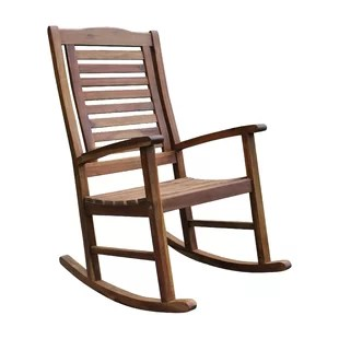 outdoor rocking chairs baby trend convertible high chair modern allmodern pine hills