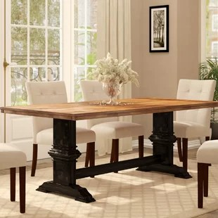 kitchen and dining room tables wall tile for farmhouse birch lane quickview
