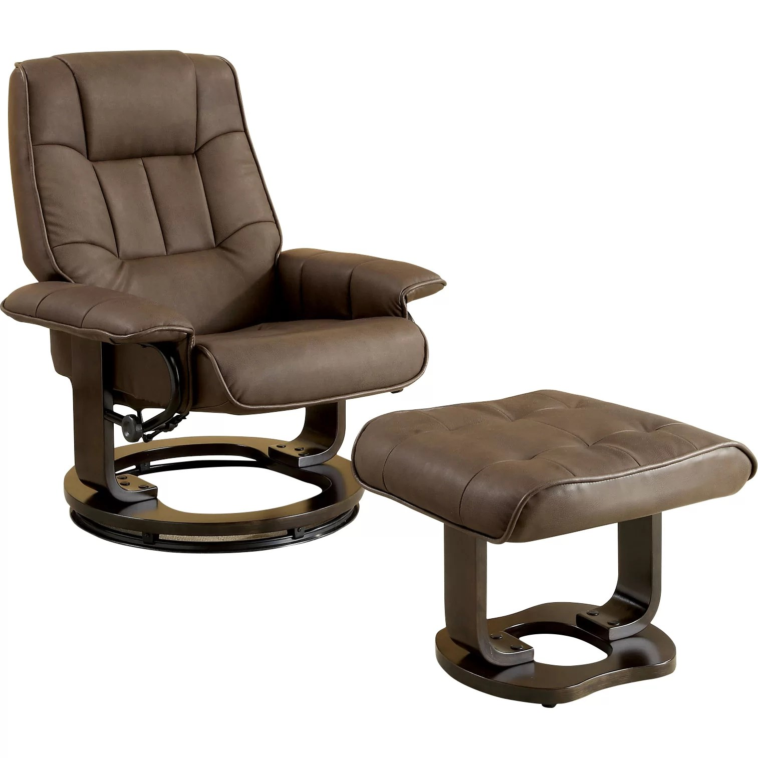 chair and a half rocker with ottoman comfortable rocking for nursing hokku designs leatherette swivel recliner