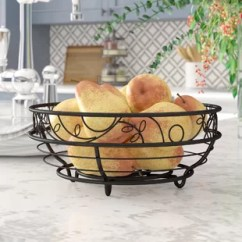 Fruit Basket For Kitchen Pantries Wayfair Augustine Countertops