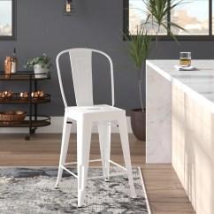 Counter Height Chair Baseball Desk Trent Austin Design Dovercliff 24 Stool Reviews Wayfair