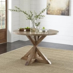 Pedestal Kitchen Table Throw Rugs 48 In Dining Wayfair Skyview
