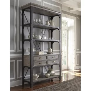 kitchen bakers rack white aid storage wayfair artrip baker s