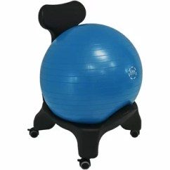 Fitball Balance Ball Chair Contemporary Lounge Yoga Base Wayfair Knorr With 52 Centimeter Stability And Pump