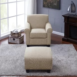 microfiber club chair with ottoman covers rental orlando comfortable wayfair quickview