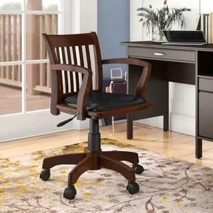 wood office chair rattan outdoor chairs australia desk birch lane quickview