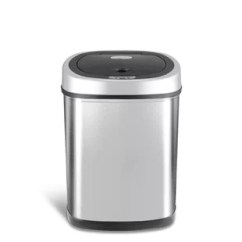 Kitchen Trash Bin White Stools Cans You Ll Love Wayfair Stainless Steel 11 Gallon Motion Sensor Can