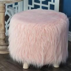 Pink Vanity Chair Rubbermaid High Blush Stool Wayfair Quickview