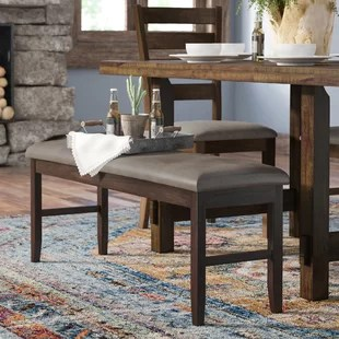 kitchen island bench bar stools seating wayfair channel wood