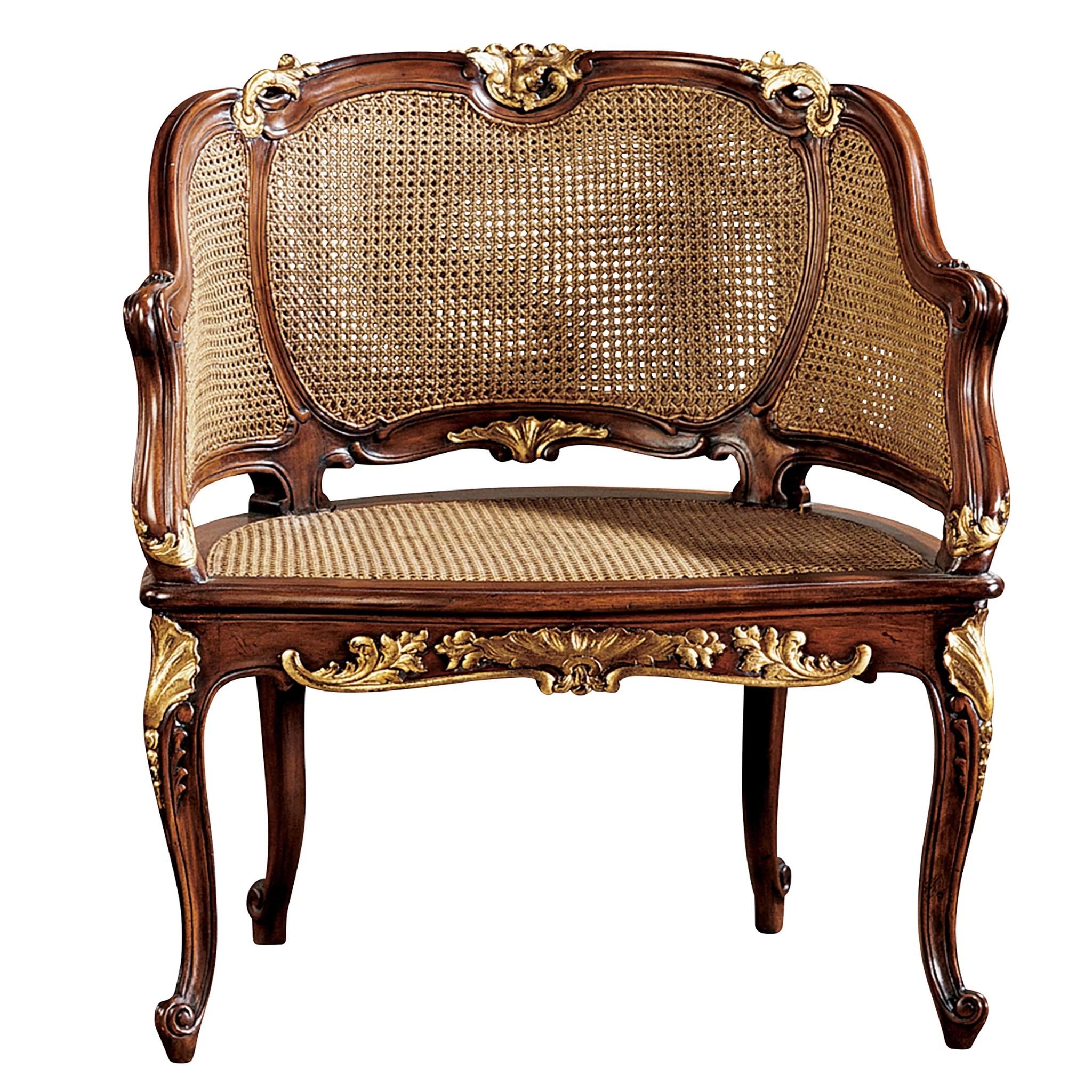 louis xv chair luxury dining room covers design toscano armchair reviews wayfair
