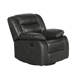 rocker and recliner chair heavy duty outdoor folding chairs recliners you ll love wayfair rolston manual swivel