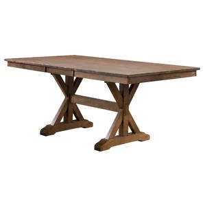 rubberwood butterfly table with 4 chairs bulk 2 leaf dining | wayfair