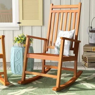 outdoor rocking chairs behind the chair app patio gliders you ll love wayfair titouan hardwood