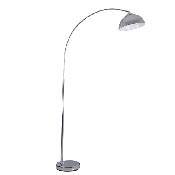 Karlin Chrome Arched Floor Lamp  Reviews  AllModern