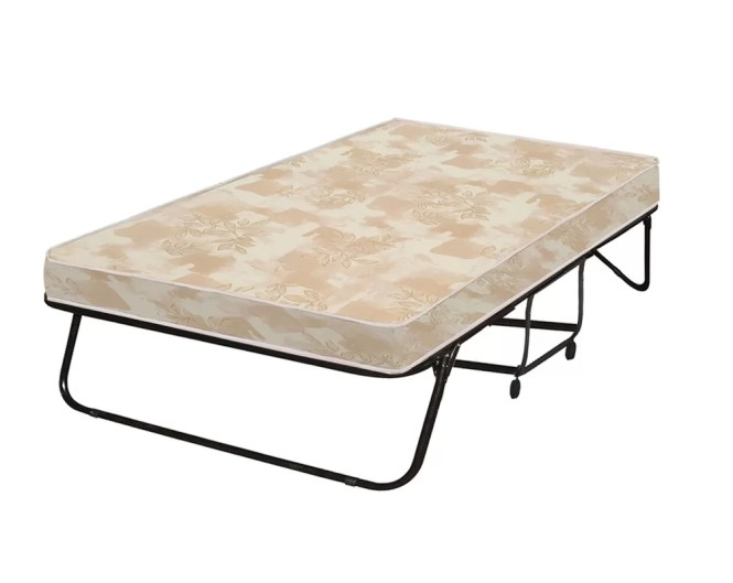 Portable Rollaway Folding Bed With Mattress