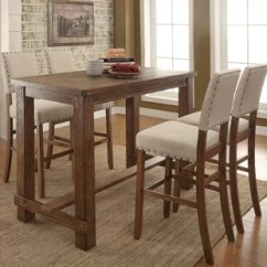 Small Pub Table And Chairs Handmade Wooden Tables Sets Joss Main Orth 5 Piece Set