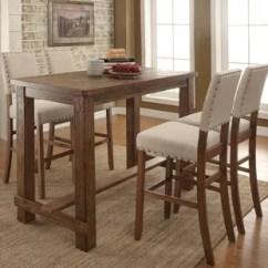 Pub Kitchen Table Distressed White Cabinets Tables Bistro Sets Birch Lane Orth 5 Piece Set
