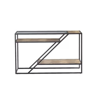 black lacquer sofa table rose gold sofas uk modern contemporary console tables allmodern kit