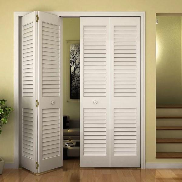 Plantation Louvered Bifold Closet Doors