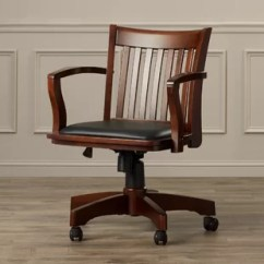 Wood Office Chair Gaming For Short Person Chairs You Ll Love Wayfair Quickview