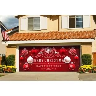 Christmas Garage Door Decor