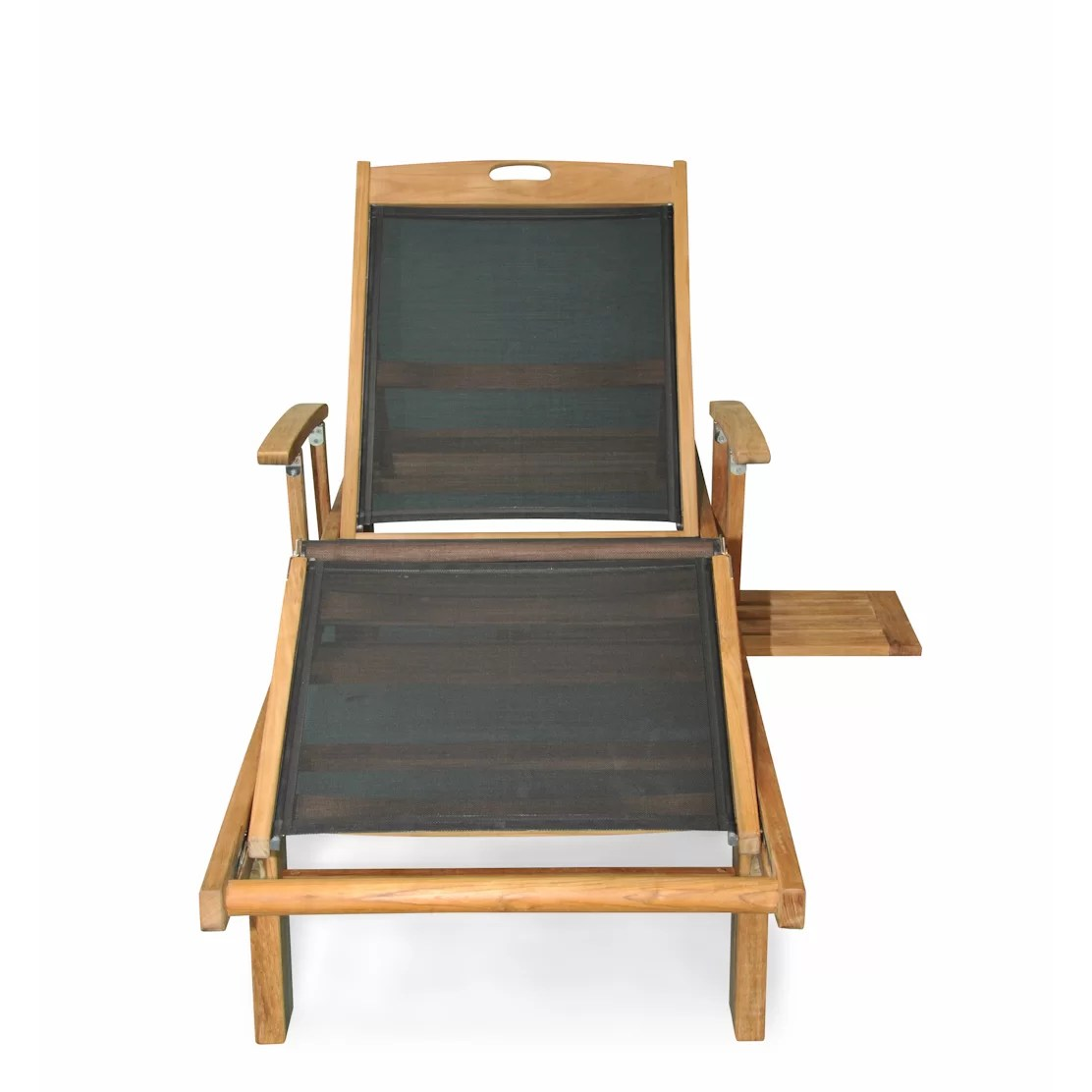 teak chaise lounge chairs sale avant styling chair regal sling arm and reviews wayfair